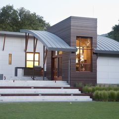 Modern exterior by wa design general roofing systems Exterior repair and design solutions