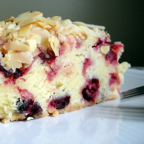 Cranberry Cake With Toasted Almonds | Indulge | Pinterest | Cranberry ...