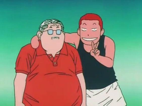 安西先生と桜木花道