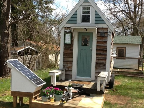 Tiny house blog campers and solar house on pinterest