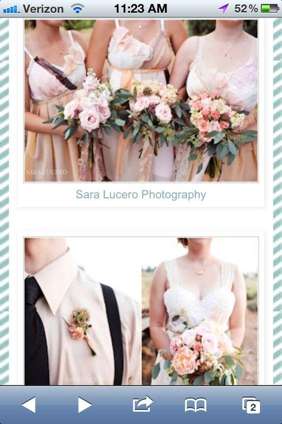 Ombré weddding @saralucerophotography @brierrosedesign