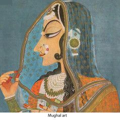 Mughals art and miniature paintings - www.parisindiaconnections.com