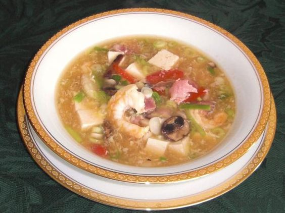 Chinese Hot & Sour Soup from Food.com: Made this Chinese Szechuan soup ...
