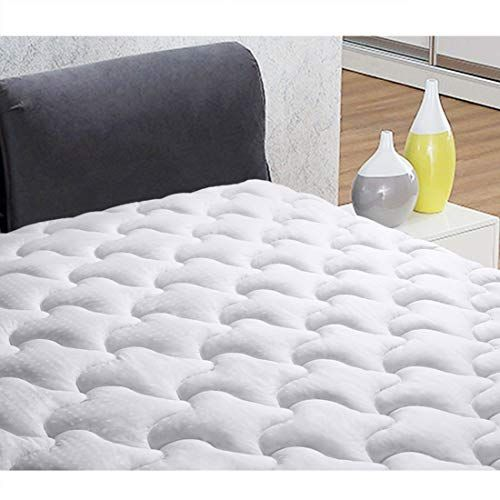 Ingalik California King Size Mattress Pad Cover Cotton Deep Pocket