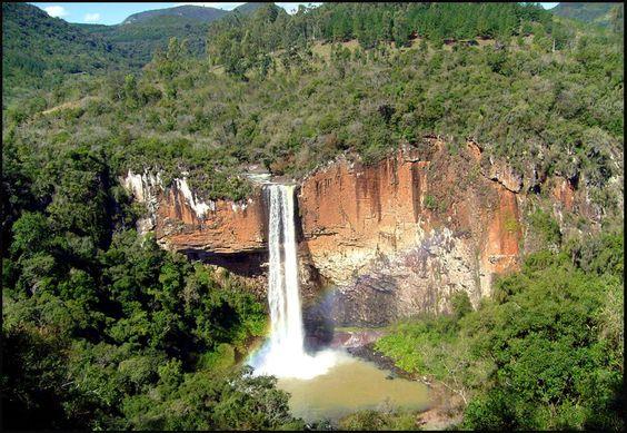 Chuvisqueiro Waterfalls