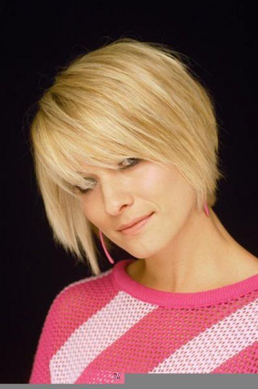 Short to Medium Hairstyles for Thin Fine Hair | Bob cut hairstyles ...