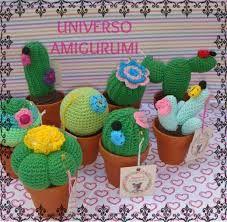 Resultado de imagen para amigurumis cactus