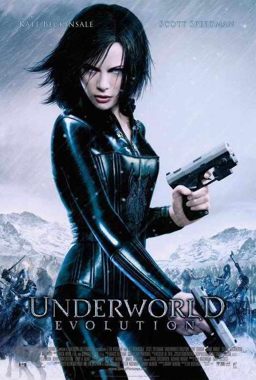 Underworld Evolution Movie Poster 27 X 40 Kate Beckinsale B
