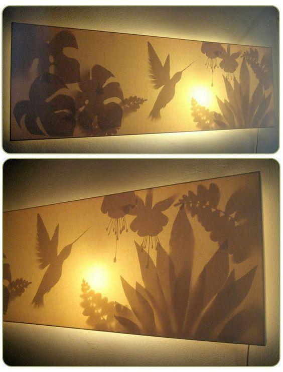 sabine rauschan leuchtbilder schnipsel somewhere to live pinterest. Black Bedroom Furniture Sets. Home Design Ideas