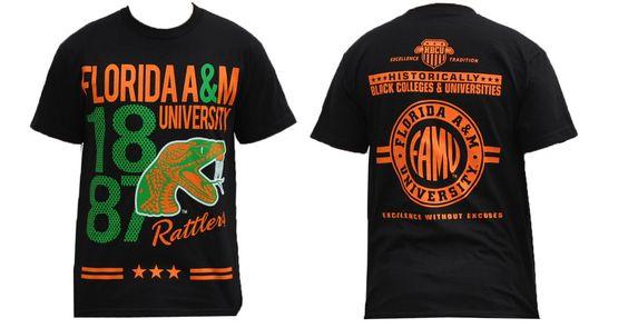 Florida A M University Famu T Shirt