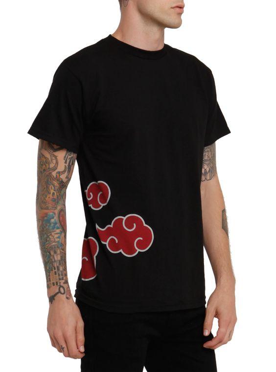 Naruto Itachi Clouds T-Shirt