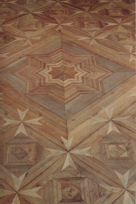 Intricate parquet floor by Jean-François Hache