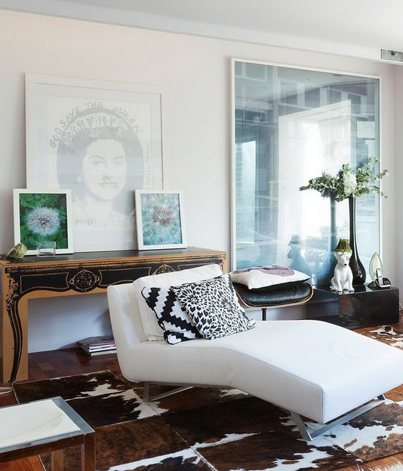 Oh my gosh i want to own this room white glam modern for Edgy bedroom ideas