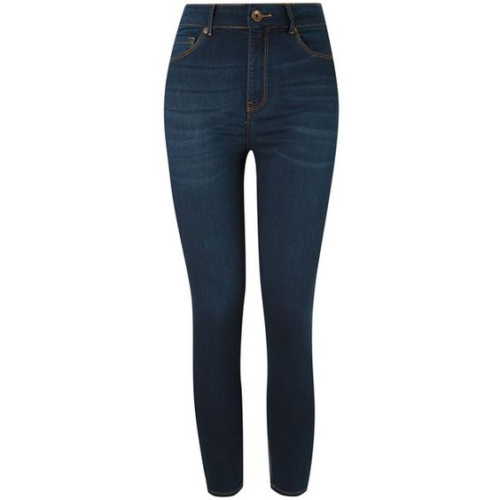 Le Lis Blanc Calça jeans skinny Restoque ($170) ❤ liked on Polyvore featuring jeans, blue skinny jeans, skinny jeans, blue jeans, skinny leg jeans and le lis blanc