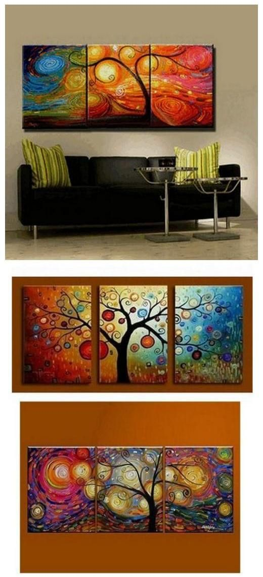 53 Diy Ideas Cool Easy Paintings Canvas Wall Neat Fast Living