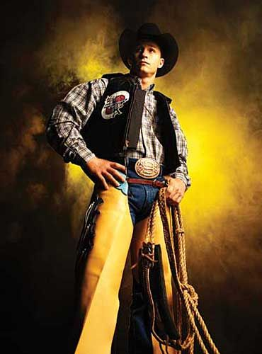 The King Himself...Ty Murray! My favorite since he was 12 yrs old, riding jr. rodeos in AZ.