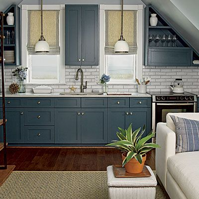 Love the cabinet color