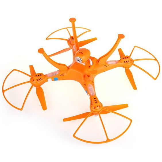Spy Gadget Quadcopter Drone RTF 4CH 2.4GHz 6 Axis RC Helicopter 2MP Camera Remote Control Drones