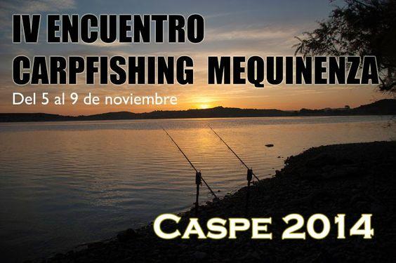 Webcarp.com Carpfishing, pesca de grandes carpas: Novedad en el IV Encuentro Carpfishing Mequinenza