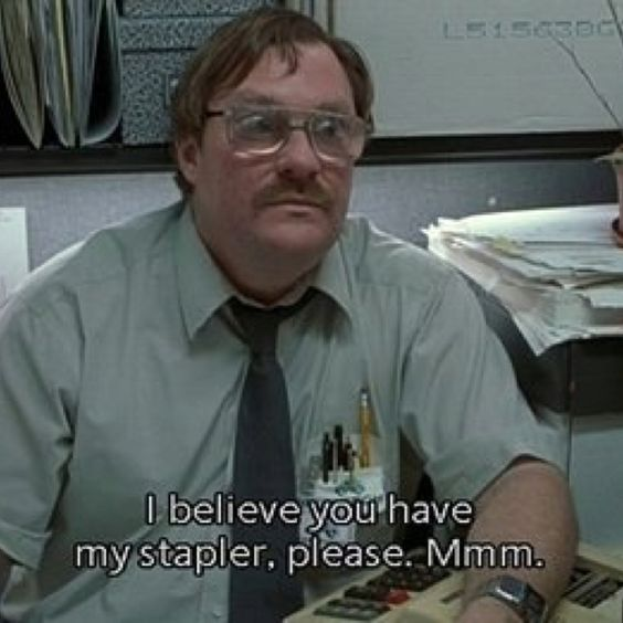 red staplers ftw office space 1999 movies tv