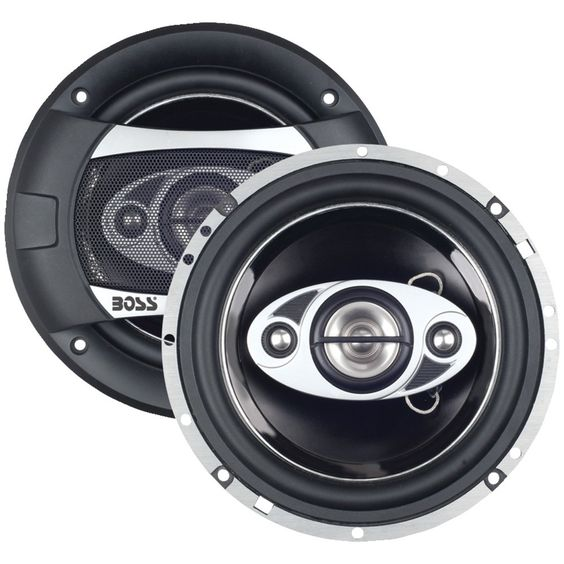"""Boss Audio Phantom Series Speakers With Electroplate-injection Cone (6.5"""")"""