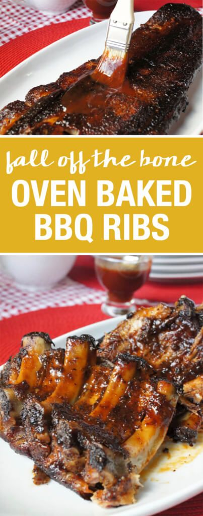 Fall off the bone Oven Baked BBQ Ribs
