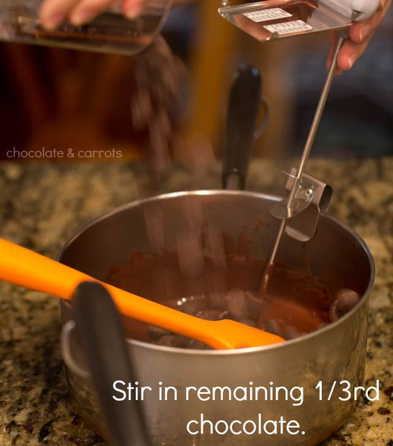 How to Temper Chocolate | chocolateandcarrots.com