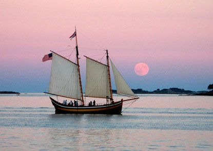 Visit Boston and see the wonderful @CityPASS attractions. Consider an excursion to nearby Salem, Massachusetts where you can discover nearly four centuries of sailing history.