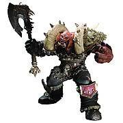 World of Warcraft Premium Series 3 Garrosh Action Figure by DC DIRECT   $30.99