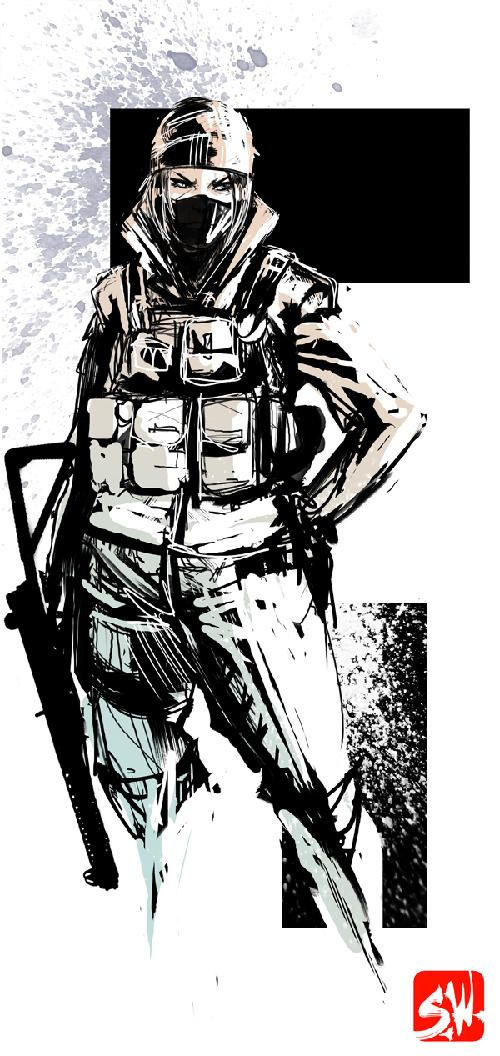 Rainbow 6 Siege Frost By Skizzleboots Rainbow Art Frost Rainbow