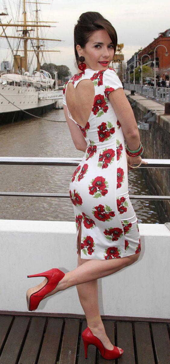 School summer dress zip nac
