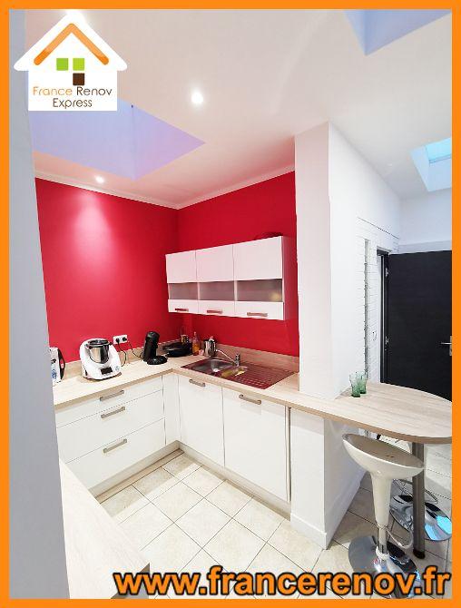 Renovation Complete D Une Extension A Tourcoing Extension Maison