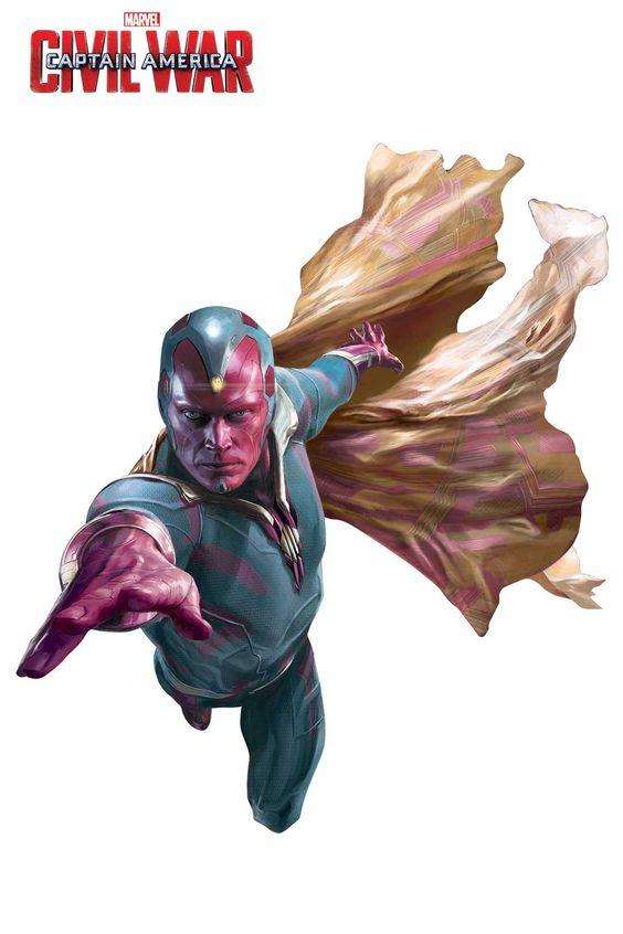 [Cine] Los dos bandos de Capitán América: Civil War en once imágenes de arte promocional individual - BdS - Blog de Superhéroes