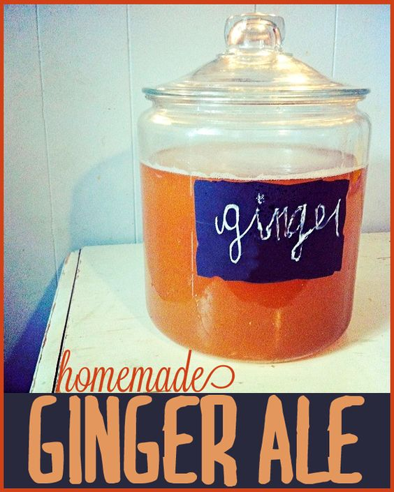 Homemade Ginger Ale Recipe – surprisingly easy to make and uses common ingredients