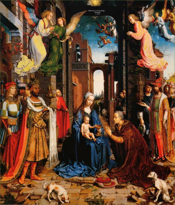 Adoración de los Reyes Magos  (Mabuse)