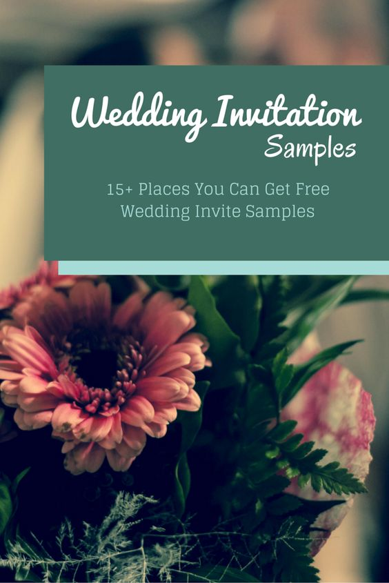 Go Request These Free Wedding Invitation Samples | Free Wedding