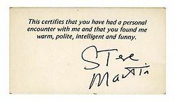 Steve Martin.