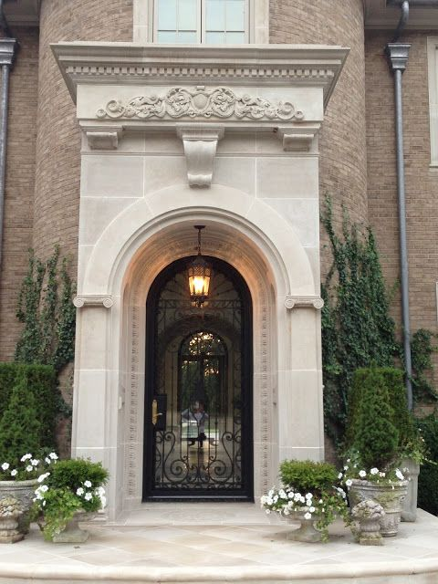 Iron front door front doors and wrought iron on pinterest for Grand entrance doors