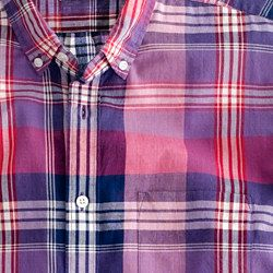 Indian cotton shirt in Pickard plaid