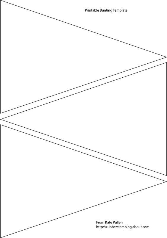 bunting template | trattorialeondoro