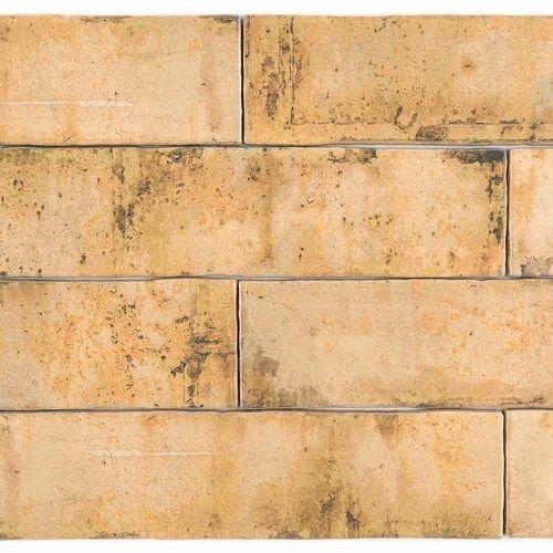 vintage distressed subway tile iron 3 x