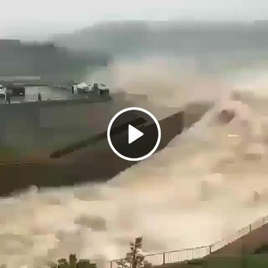 Quando a barragem é aberta o que acontece.