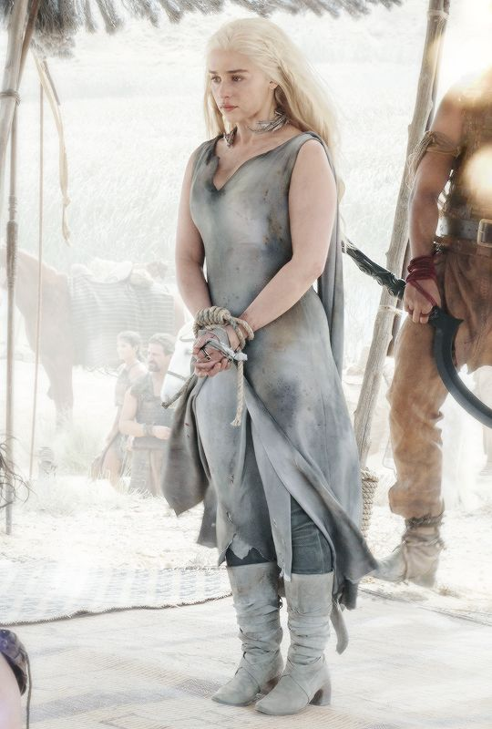 game of thrones daenerys and drogo first time