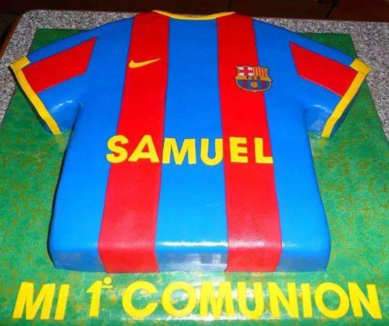 tarta del Barcelona, para Samuel!!