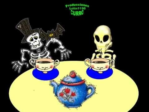 ▶ Canción Infantil Esqueletos. - YouTube