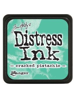 Tim Holtz Distress Mini Ink Pad CRACKED PISTACHIO Ranger