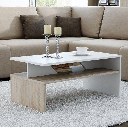 Hurley Coffee Table Orren Ellis Colour Beige White Couchtisch Couchtisch Modern Tisch