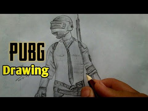 How To Draw Pubg Characters Step By Step Drawing Drawing