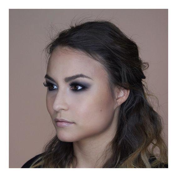 """Gorgeous @annajs2 today on the Blog. #simple #smokeyeye #beautyblog #bestmodel #lashes #contour #tutorial"" Photo taken by @hchinnakam on Instagram"