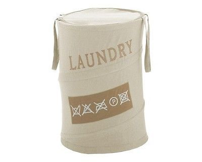 Gedy by nameeks #laundry basket beige co38 #accessories #bathroom modern fabric,  View more on the LINK: 	http://www.zeppy.io/product/gb/2/272263022065/